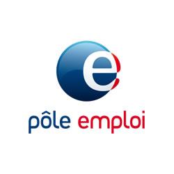 Le logo de notre partenaire Pôle Emploi