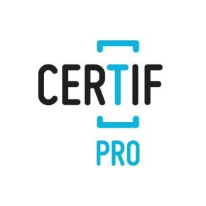 Le logo de notre partenaire Certif Pro