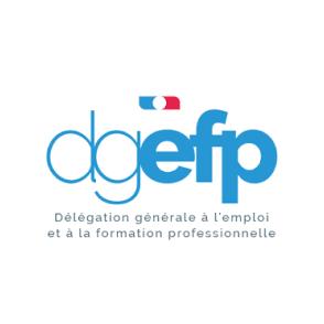 Le logo de notre partenaire DGEFP