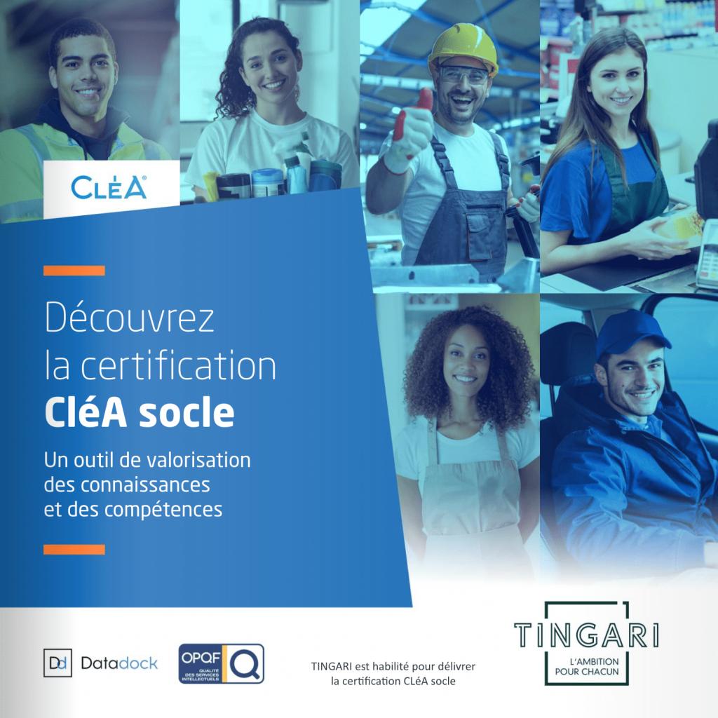 La certification CléA (image)