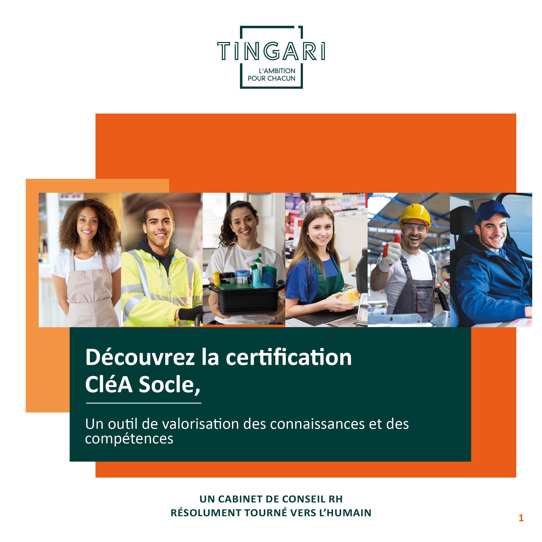 La certification CléA